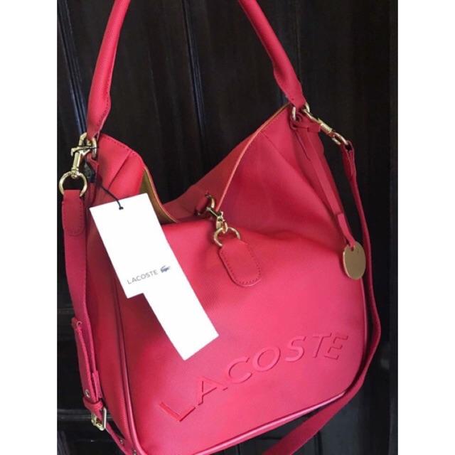Lacoste hobo bag  2041a4b497589