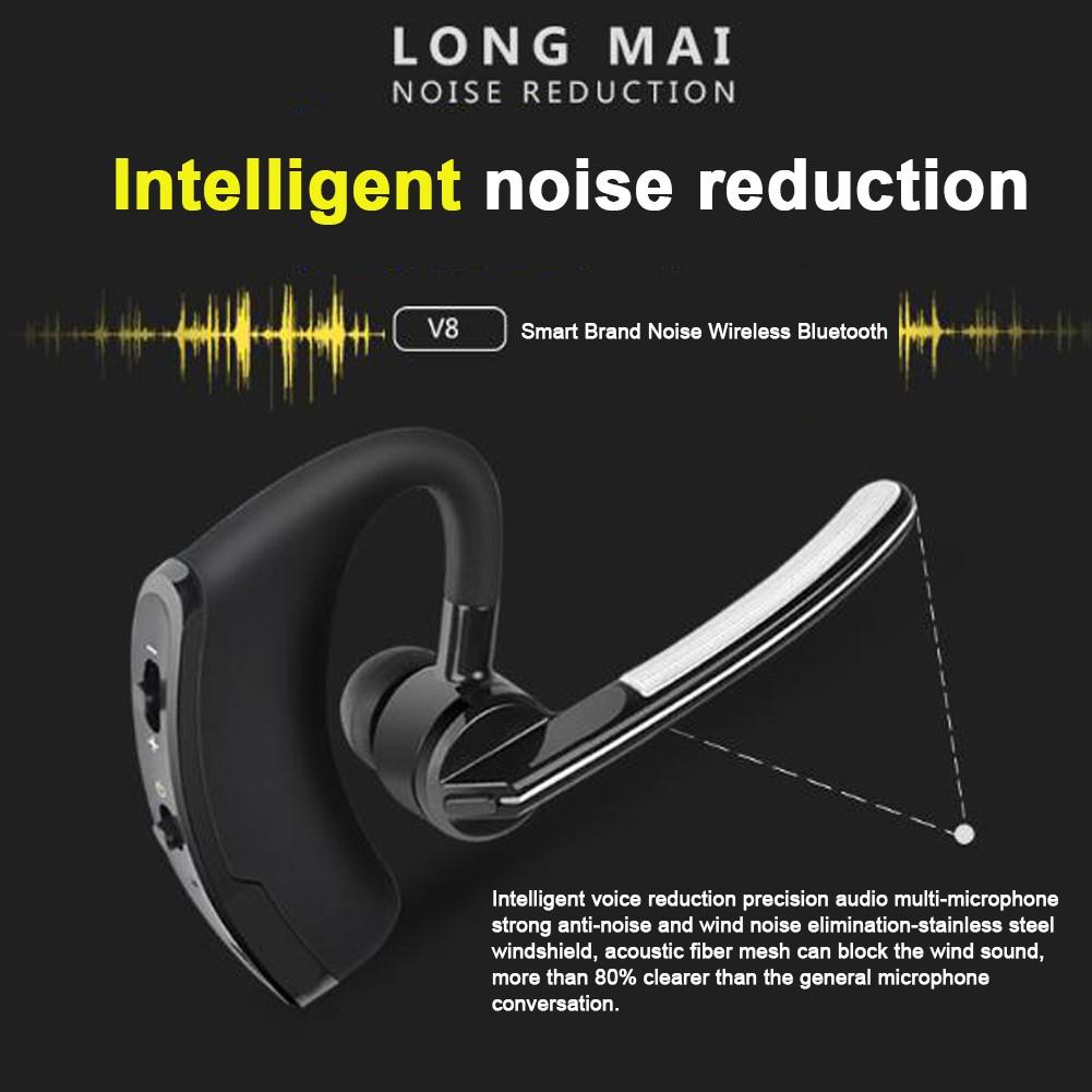 7Purple business voice control vwireless Bluetooth headset