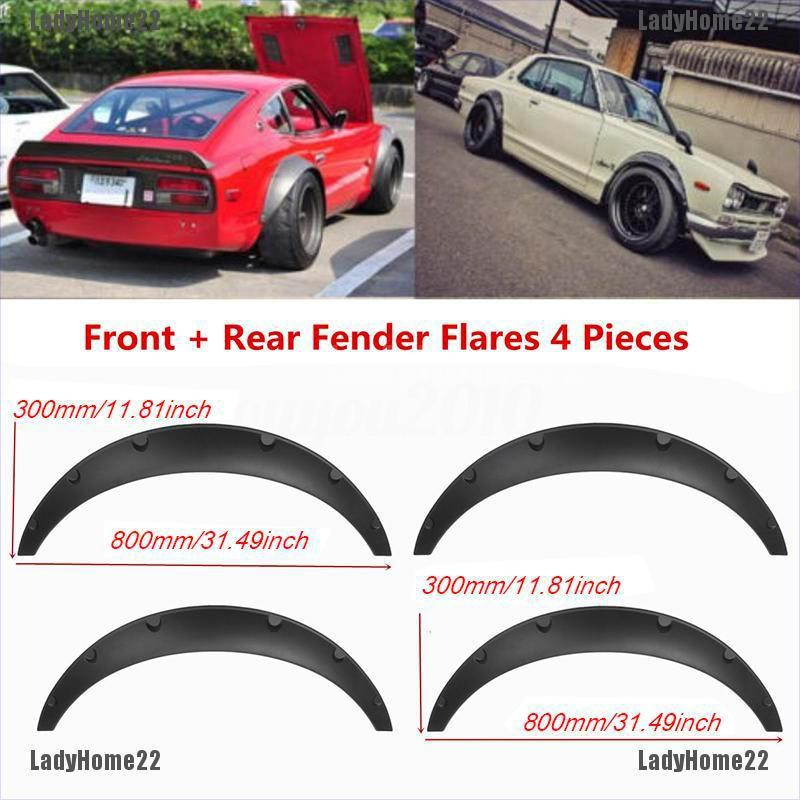 New Design Flexible Soft Durable Polyurethane Fender Flares Fit Racing Car
