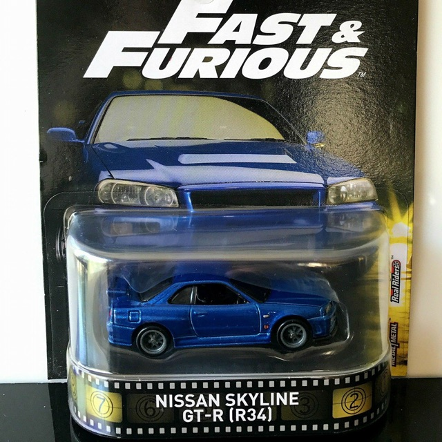 Paul Furious R34 Skyline Fastamp; Nissan Walker b76ygf