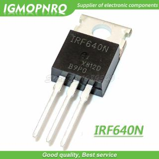 10PCS New IRF640 IRF640N Power mosfet 18A 200V TO-220/_CH