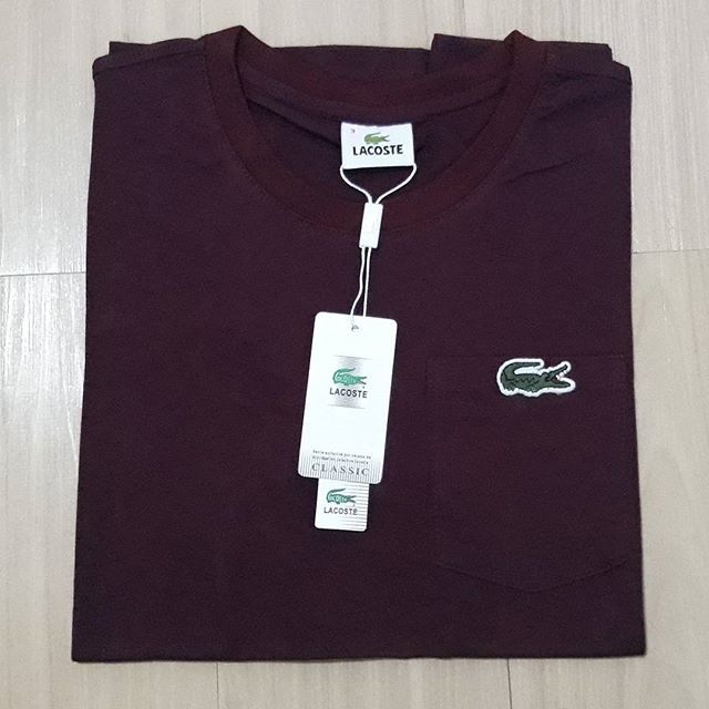 d6105d007 LACOSTE VNECK COTTON MEN | Shopee Philippines