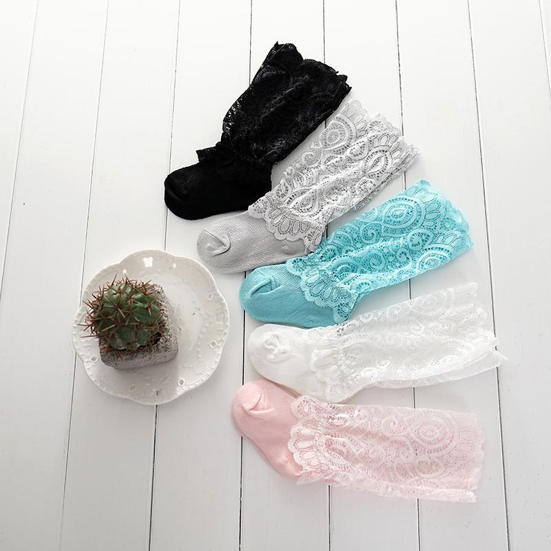 dc06be51c63ba 3 pairs/lot Newborn Baby Socks Princess Lace Baby Socks