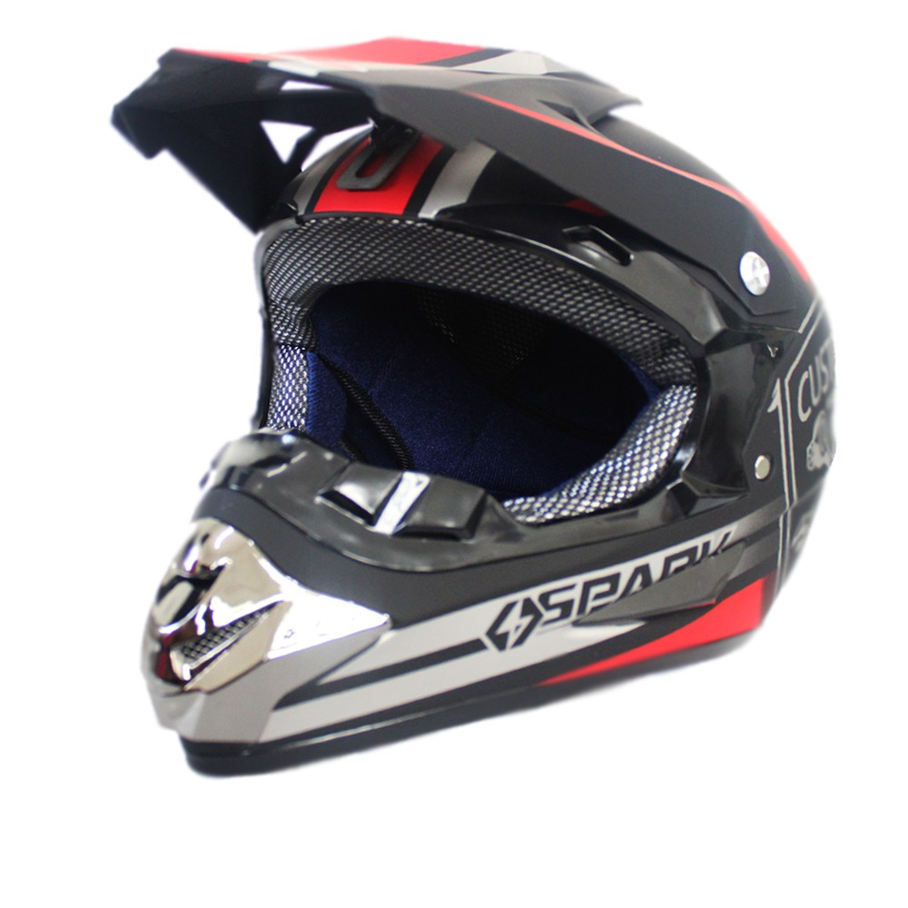 18258b1e07b New Motorcycle Helmets Motocross Racing Helmet Off Road Motorbike Full Face  Moto | Shopee Philippines
