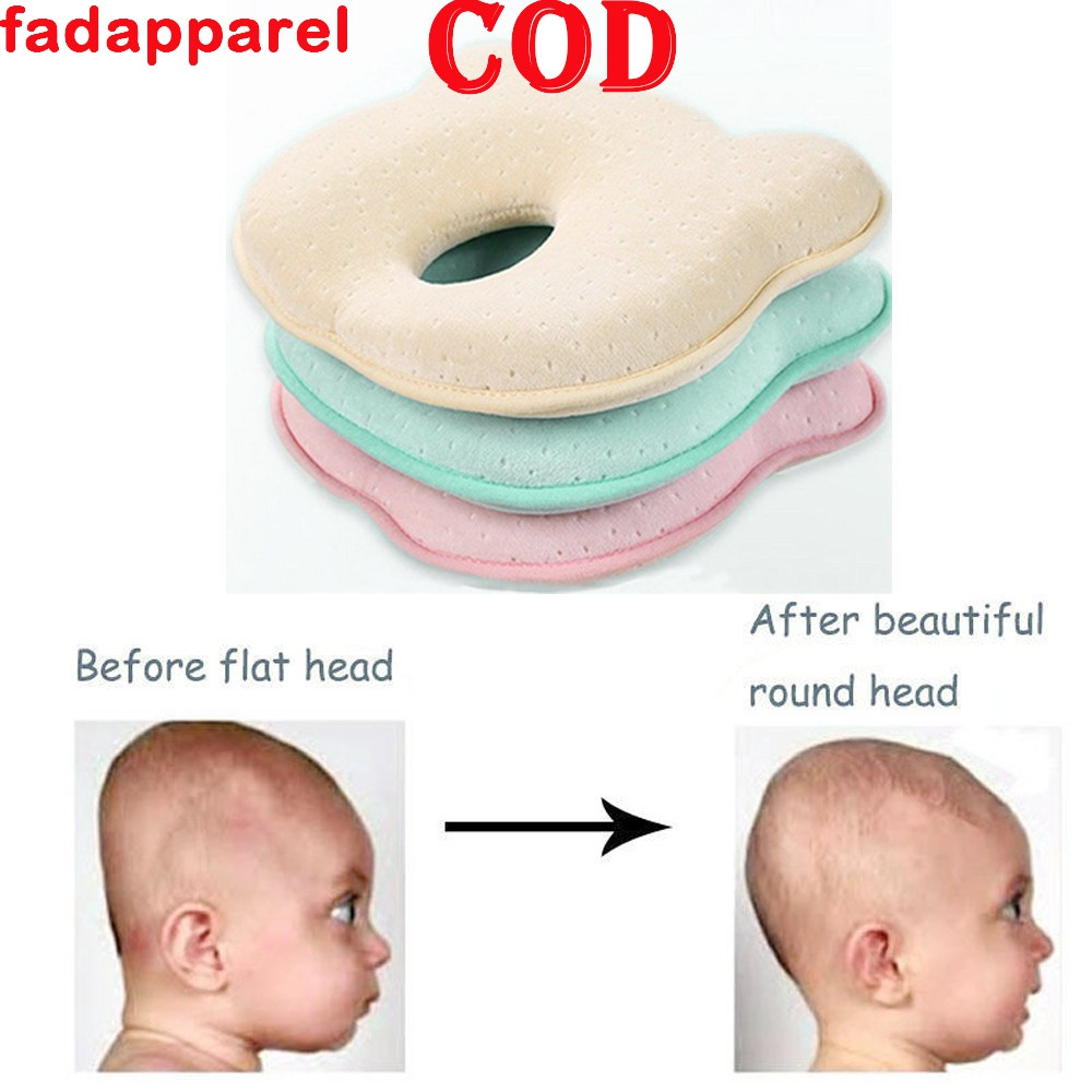 New Cotton Baby Soft Pillow Infant Toddler Prevent Flat Head Sleeping Support
