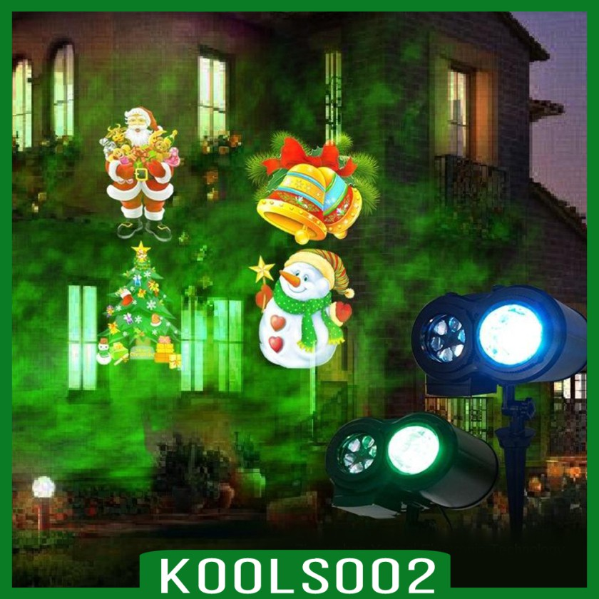 Koolsoo2 Led Projector Light Outdoor Christmas Light Waterproof With Wireless Remote For Garden House Xmas Valentines Day Wedding Parties Shopee Philippines