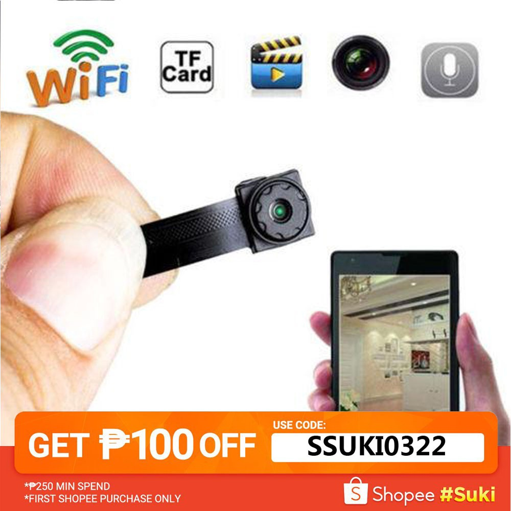 Nmu Mini Hd Wireless Wifi Ip Spy Camera Hidden Diy Module