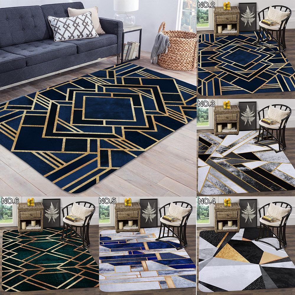 Carpet Living Room Geometric Gold Carpet Kisi Rugs Carpet Shopee Philippines