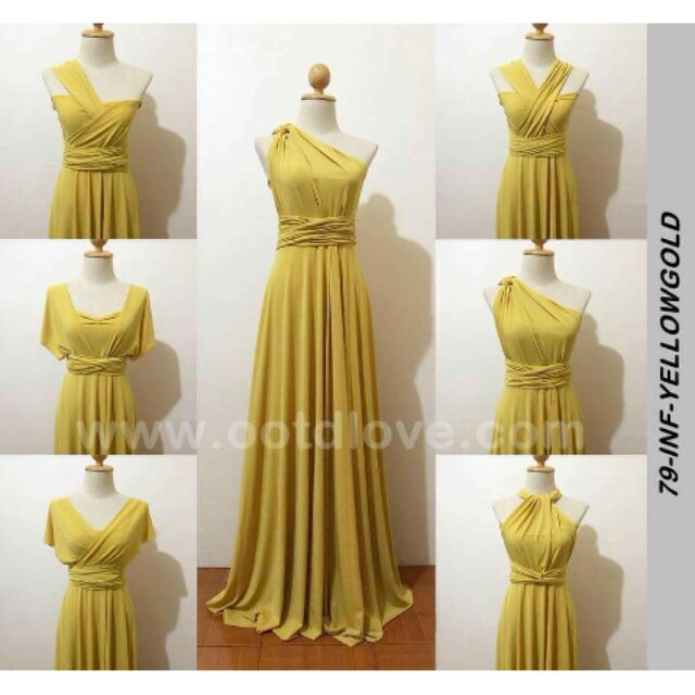 340ae587ae9 Plus size infinity dress floorlength with tube
