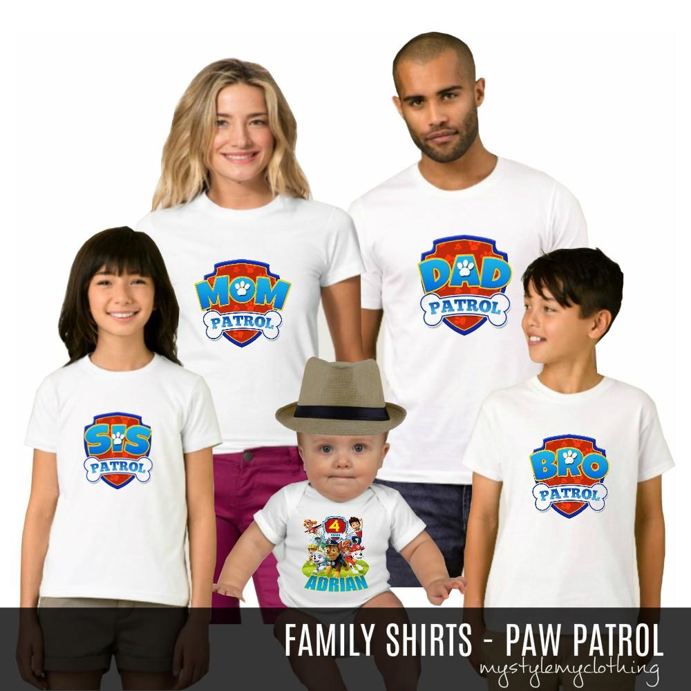 PAW Patrol Family Shirt