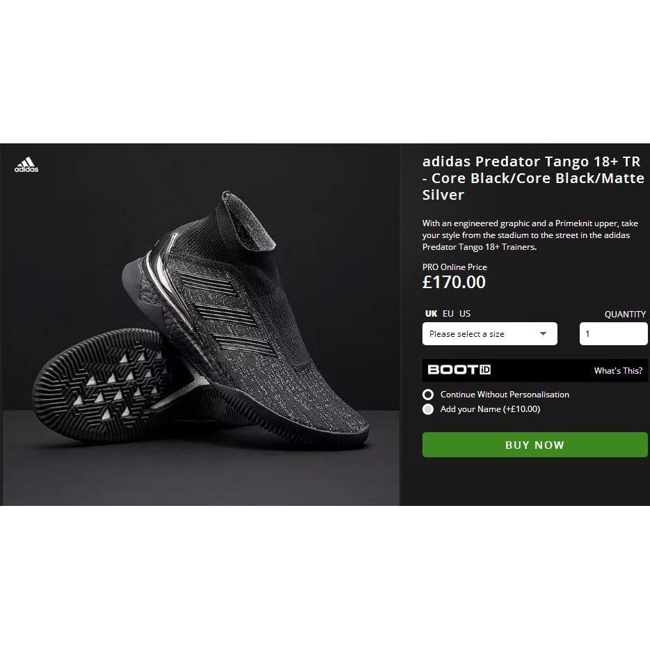 ec6879b63 7color Adidas Predator Tango 18.4 IN soccer futsal shoes