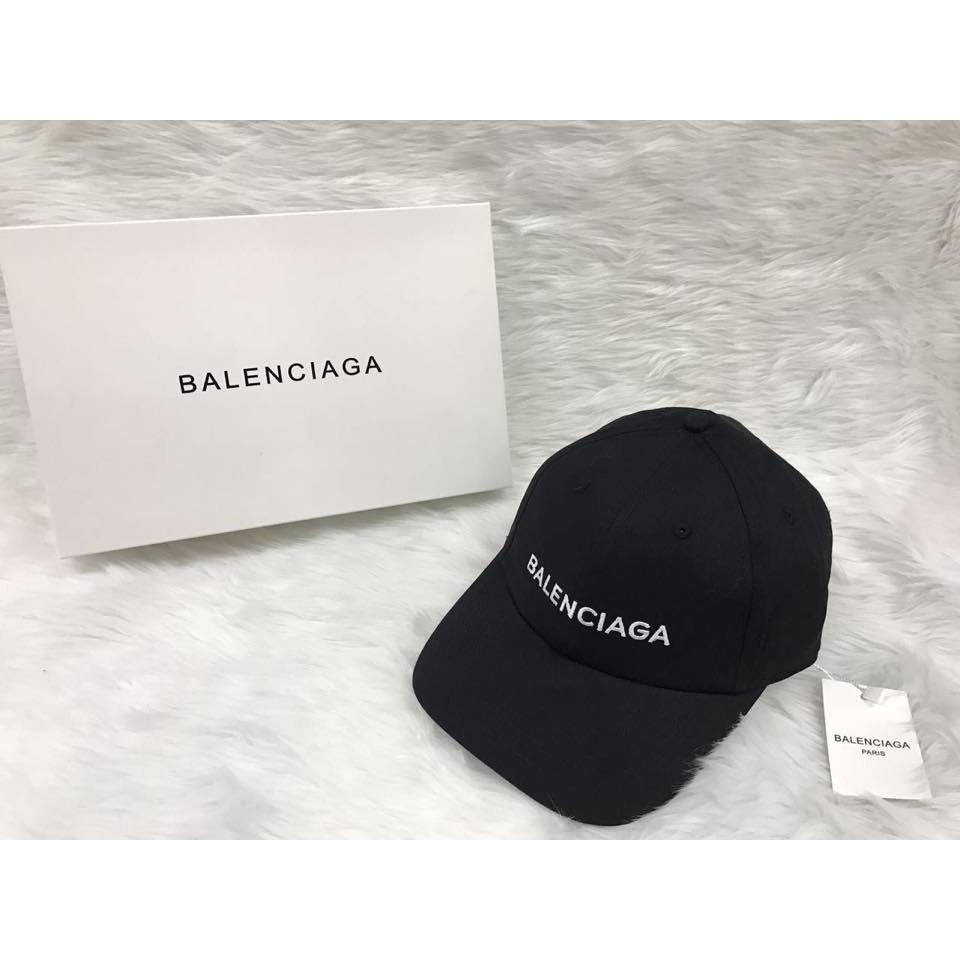 18d90d4021a BALENCIAGA Logo-embroidered baseball Cap