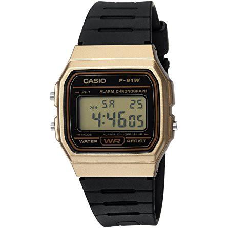 bff5a2a5f54f Casio F91W Digital Sports Watch Black