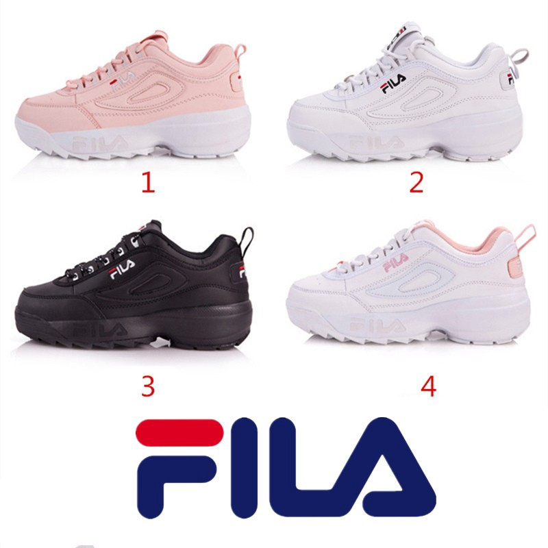 Fila Disruptor 2 men   women increased sports running shoes  fc4e986af