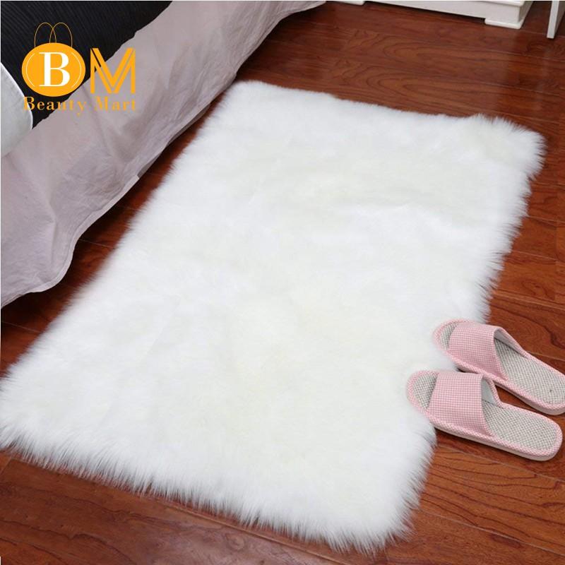 Sheepskin Rug Gy Silky Plush