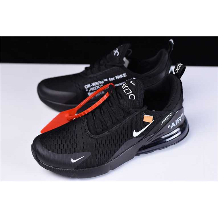 nike Men's Air Max 270 Off white x Breathable Running Shoes