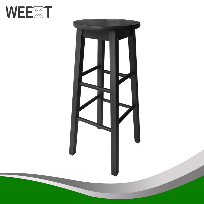 Amazing Weext Wooden Bar Stool 29 Inch Height Caraccident5 Cool Chair Designs And Ideas Caraccident5Info