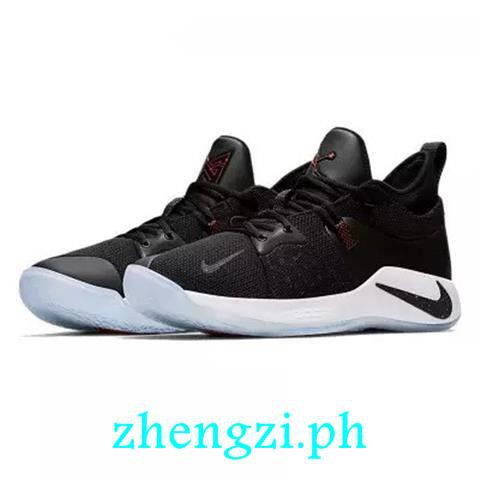 online store 7126c d904e jordan shoes men's Nike shoes basketball PG2.5 Paul 3 generation game  machine black and white silver