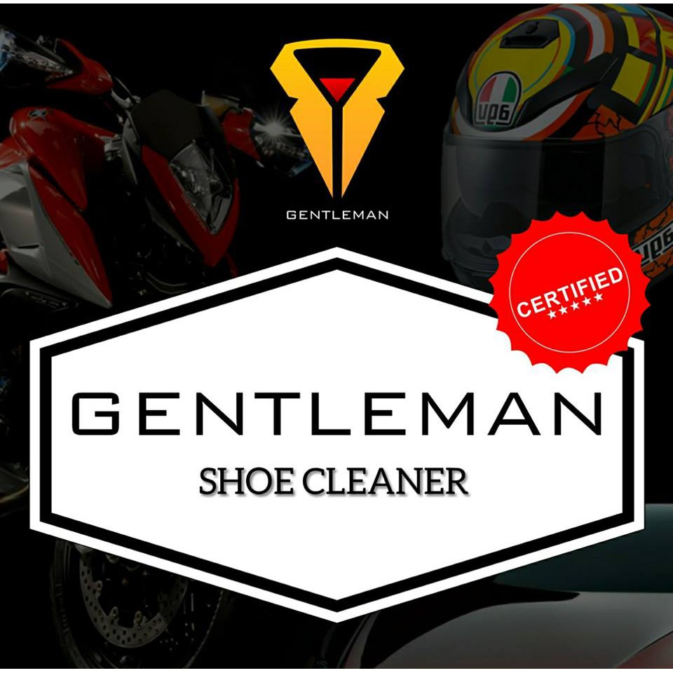 gentleman product SHOE CLEANER Can be used for both rubber or leather material.