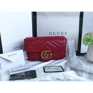 fade44b9c4a BNEW AUTHENTIC Gucci GG Marmont matelassé FLAP super mini