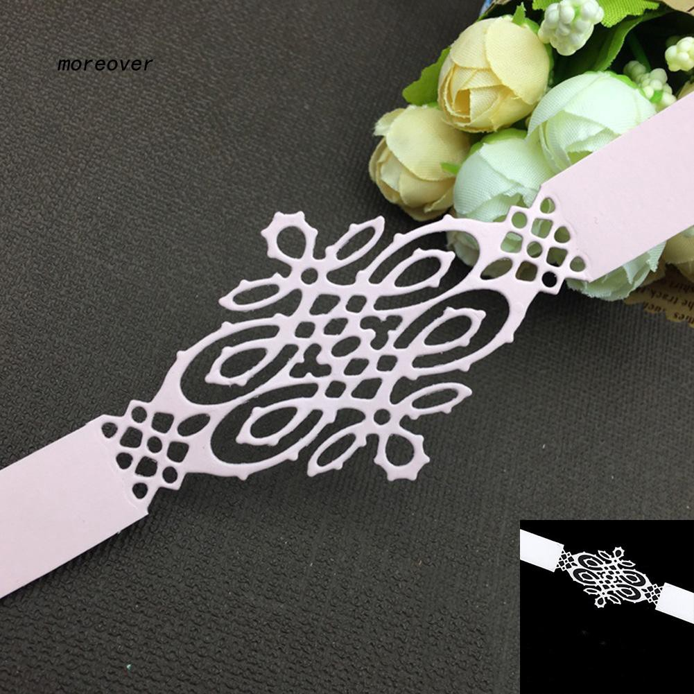 Flower Frame Cutting Metal Die Stencil Border Lace For Scrapbooking DIY Decor