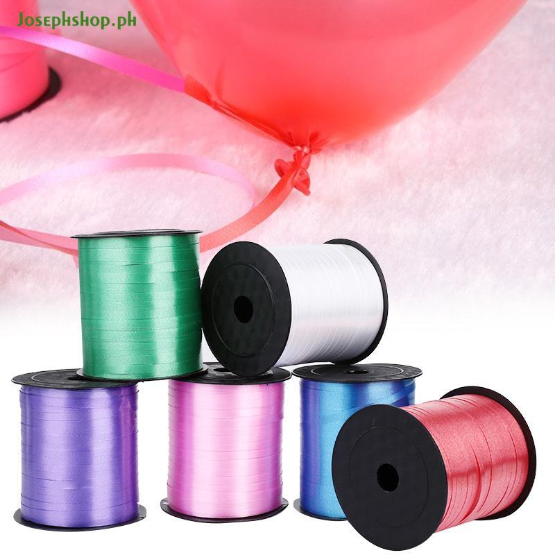 Festive & Party Supplies 250yd Plastic Balloon Ribbon Wedding Gift Birthday Economic Diy Packing Craft Balloon Curling Ribbon Colorful Lace Satin Ribbon