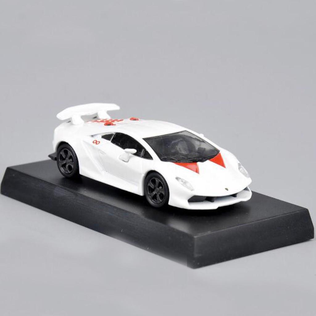 1 64 White Lamborghini Sesto Elemento Diecast Car Model Shopee Philippines