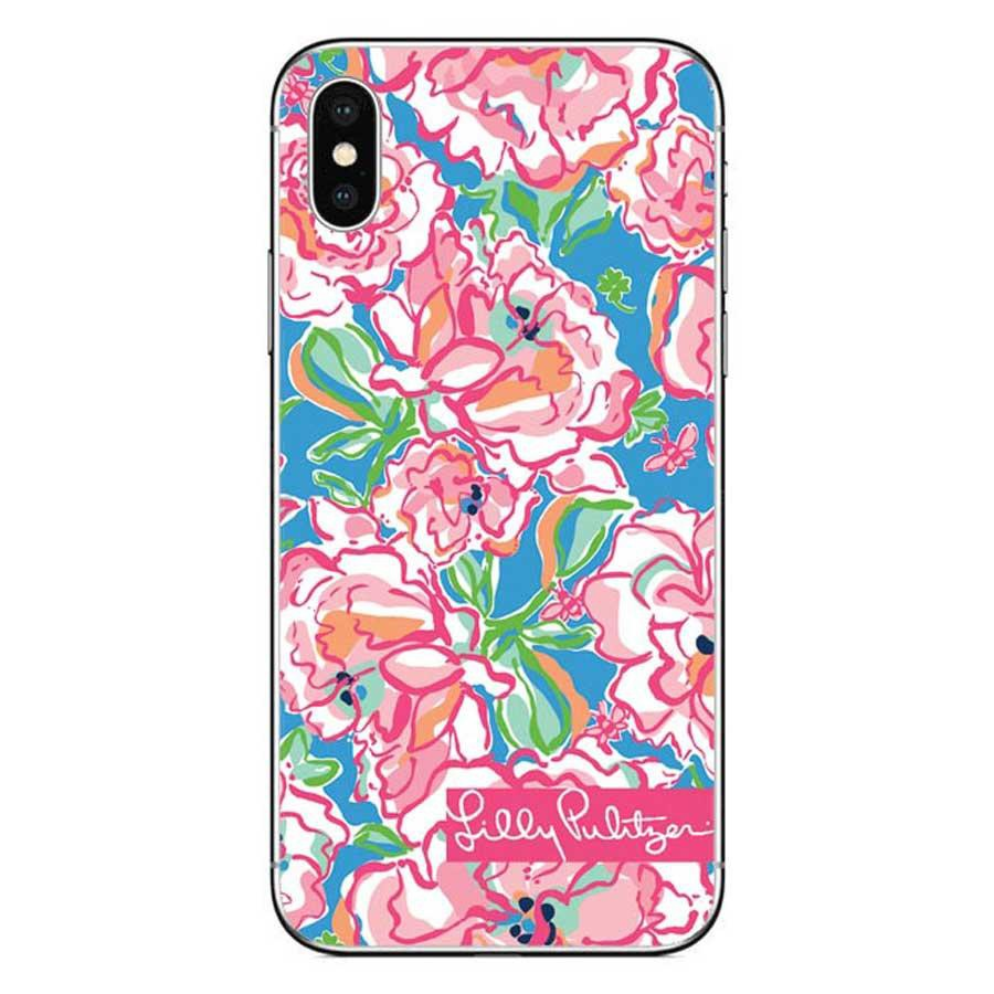 5968c30e1572b Casing iPhone X Lilly Pulitzer Summer Flower Pink