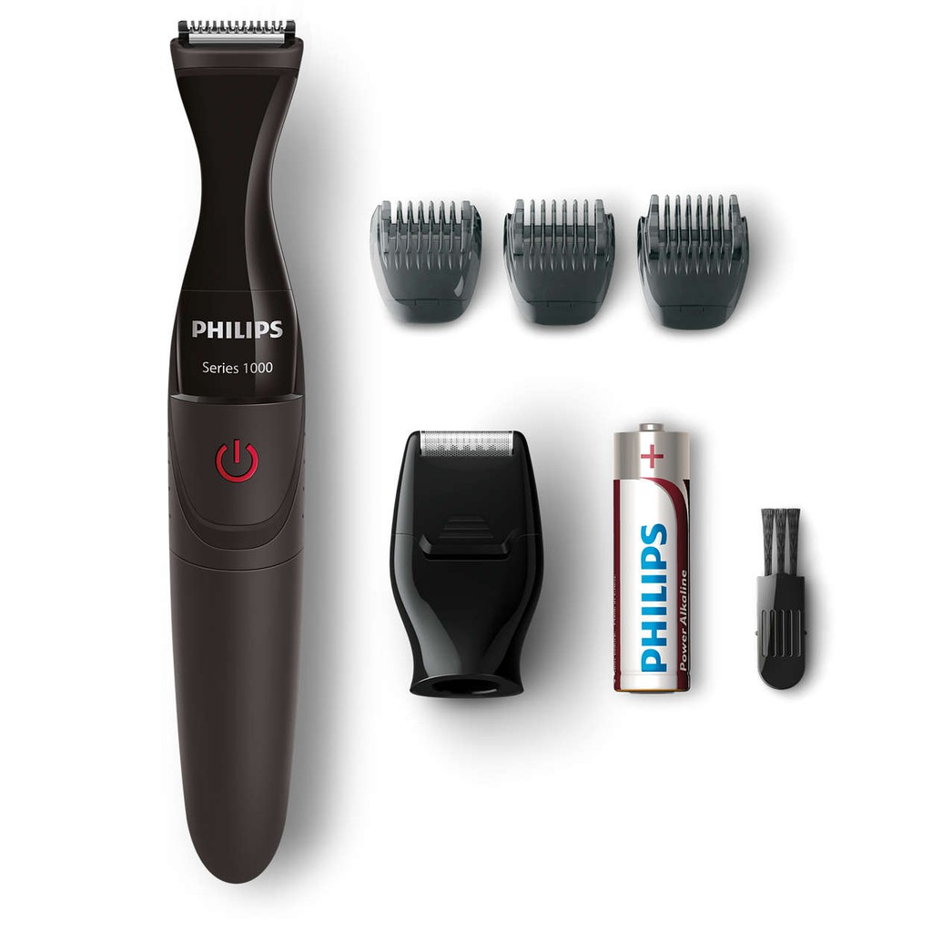 Philips Pq206 18 Electric Shaver Maroon Shopee Philippines
