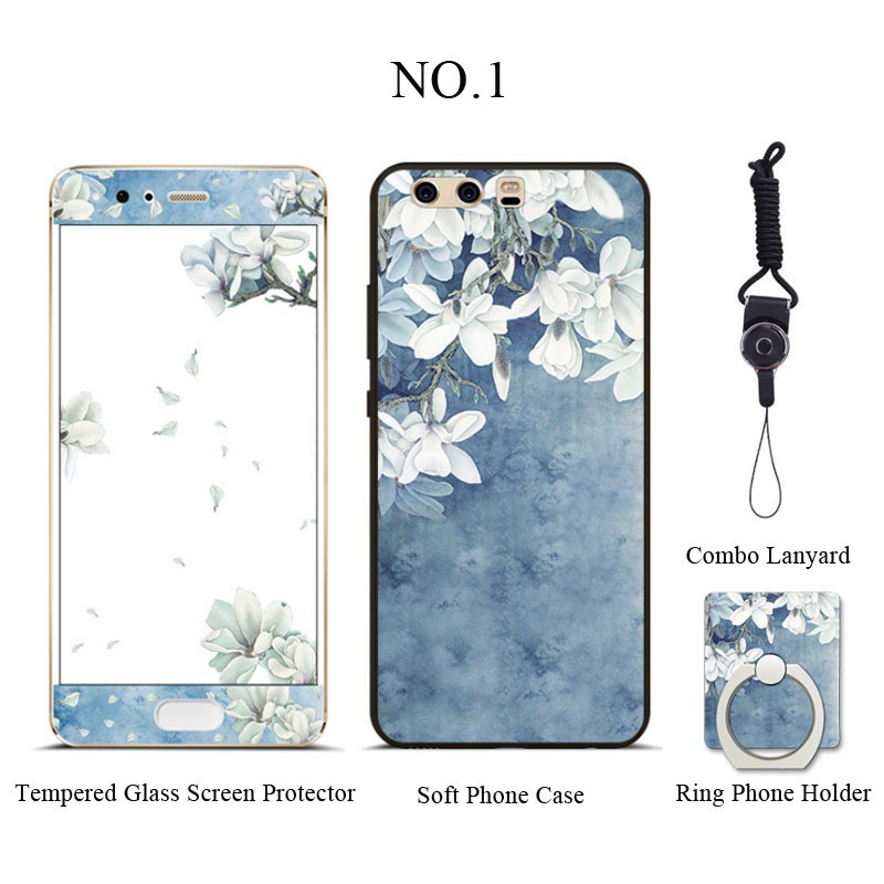 Oppo F5 Tempered Glass Screen Protector Film+Soft TPU Case   Shopee Philippines