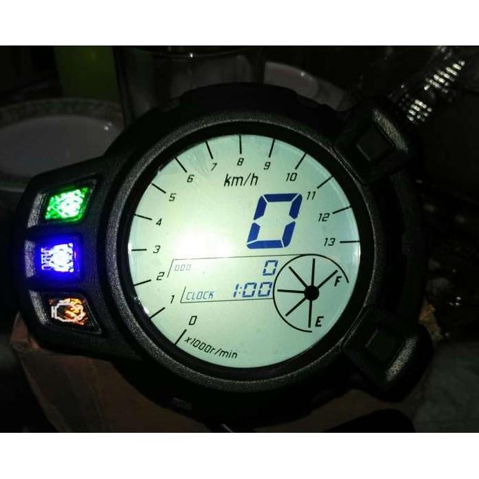 Motorcycle Panel Digital Speedometer 7 Colors XRM | Shopee