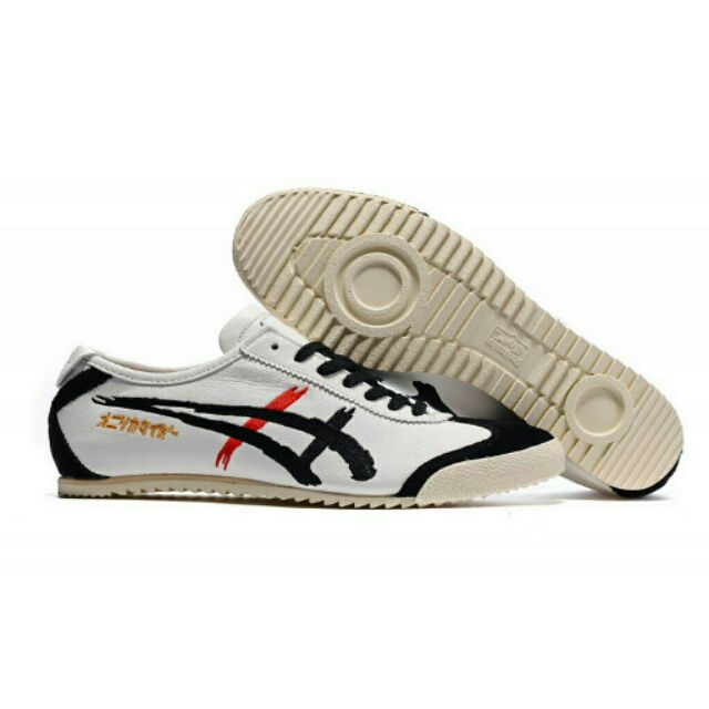 promo code b8913 98bba Onitsuka Tiger Deluxe Embroid White/Black Nippon made