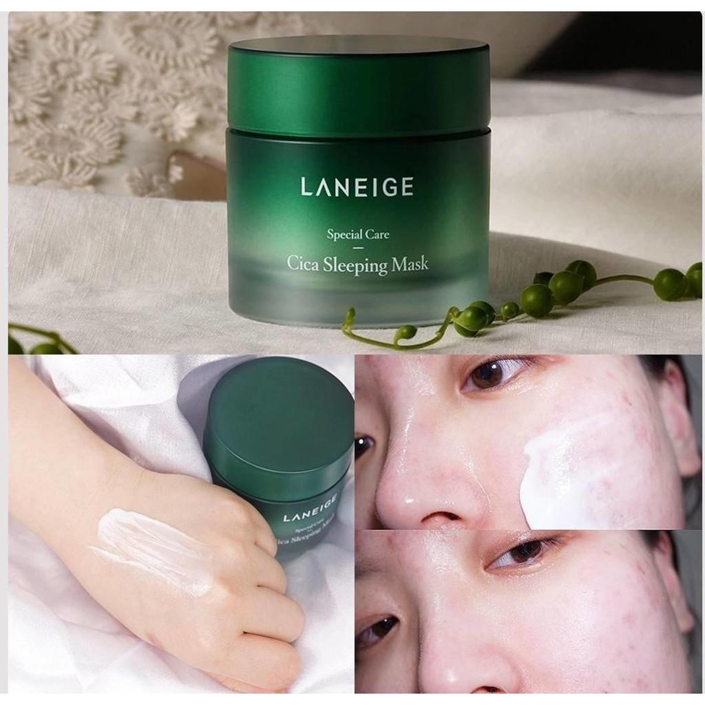 AUTHENTIC 2019 NEW! Laneige CICA Sleeping Mask 3ml Sample | Shopee  Philippines