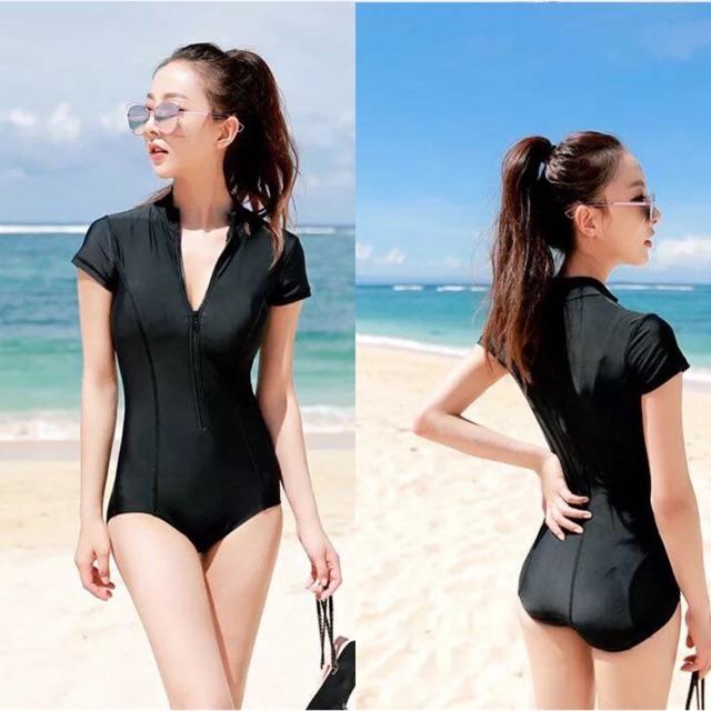 8ddf9372f343d Siamese Boxer SlimLarge Size Conservative Fat mm Swimwear | Shopee  Philippines