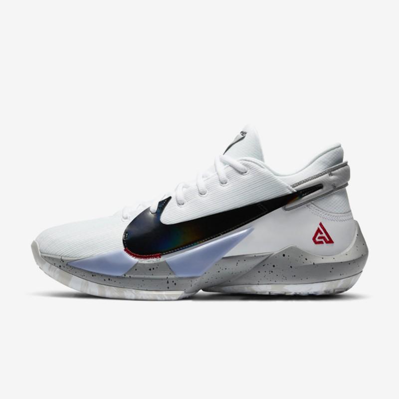 Zoom Freak 2 White Cement Men S Basketball Shoes Giannis Antetokounmpo Fashion Sport Sneakers Shopee Philippines