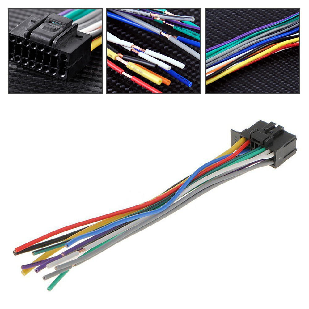 40cm Car Stereo Radio Replacement Wire Harness for Pioneer 40 40 Pin SRKT