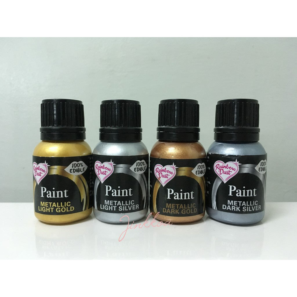 Rainbow Dust Metallic Food Paint 25ml