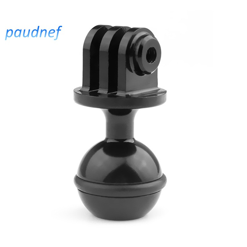 GoPro HERO7 //6//5 //5 Session //4 Session //4//3+ //3//2 //1 Diameter: 2.5cm Durable 1//4 inch Screw Aluminum Ball Adapter Mount for DJI New Action Color : Red Xiaoyi and Other Action Cameras