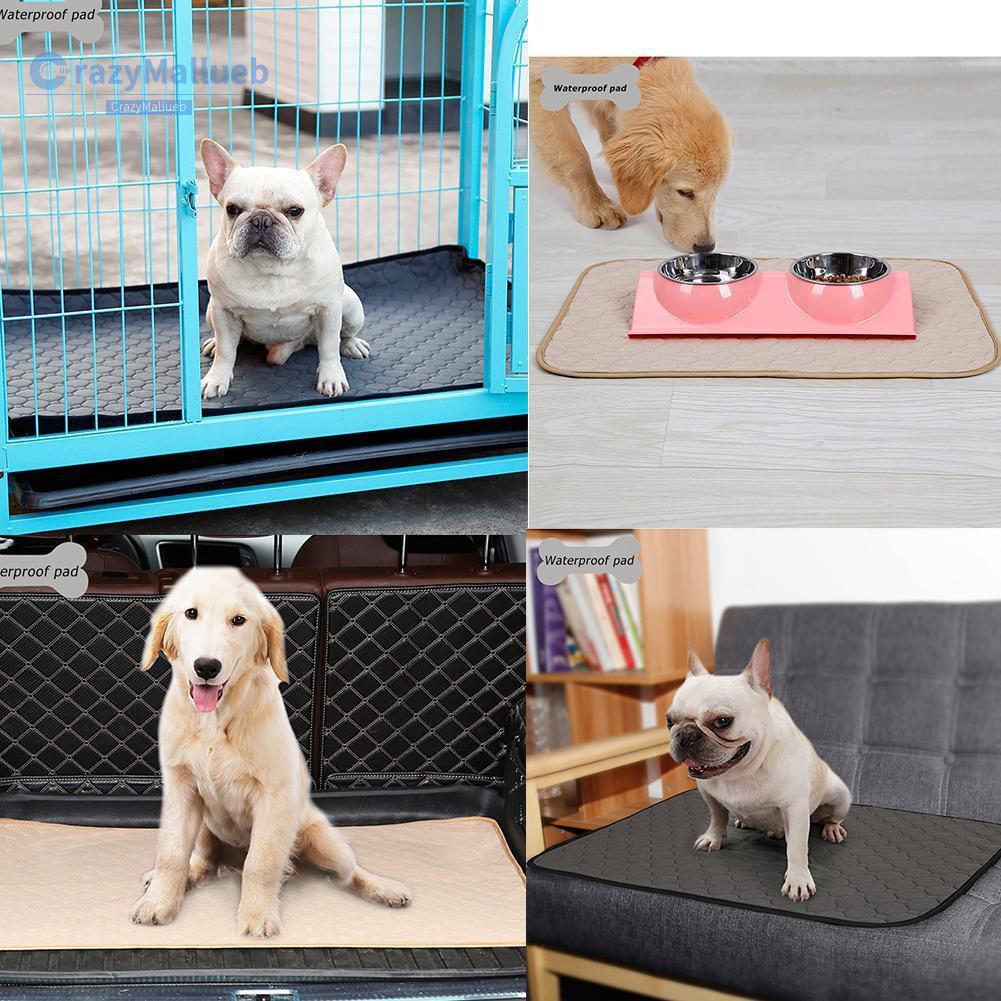 Waterproof Puppy Pet Dog Cat Training Diaper Urine Pads Absorbent Mat Reusable