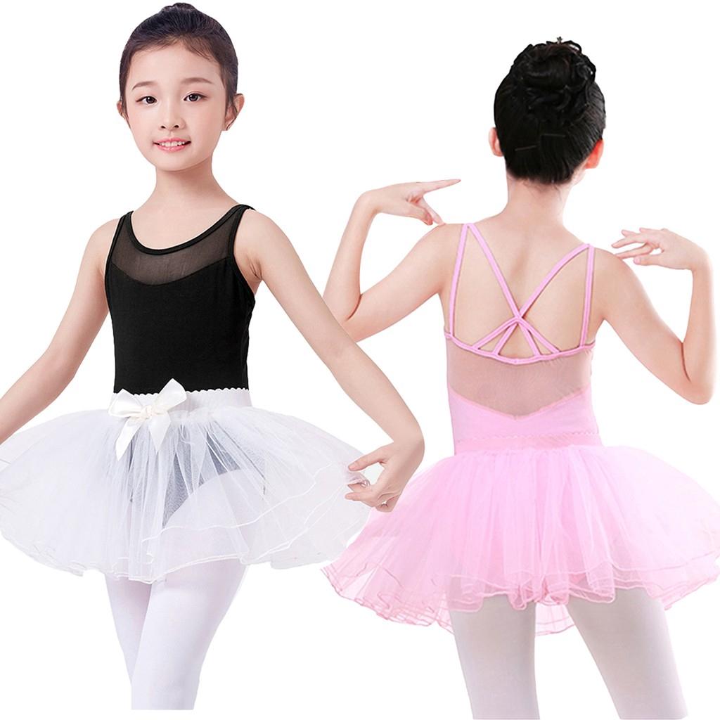 Kids Girls Butterfly Sequined Gymnastics Leotard Jumpsuit Ballet Dance Bodysuit