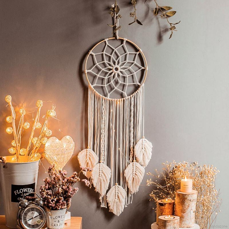 Woven Macrame Wall Hanging Tapestry