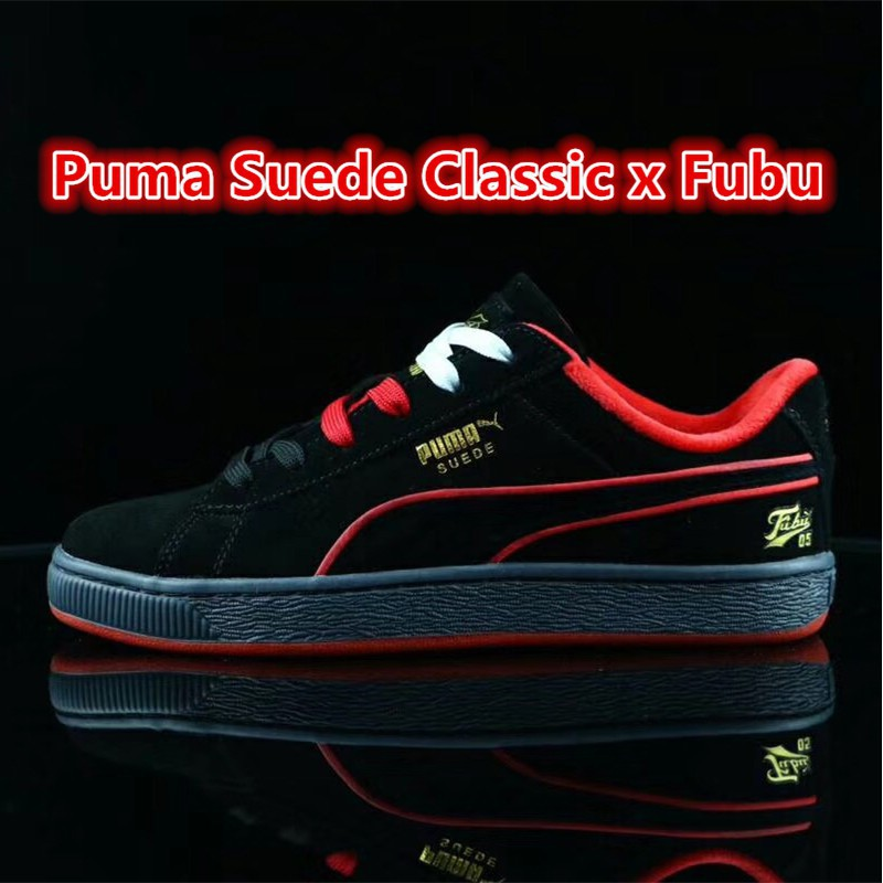 848368d3baff Original Puma Suede Classic x Fubu Men skateboard shoes Wome ...