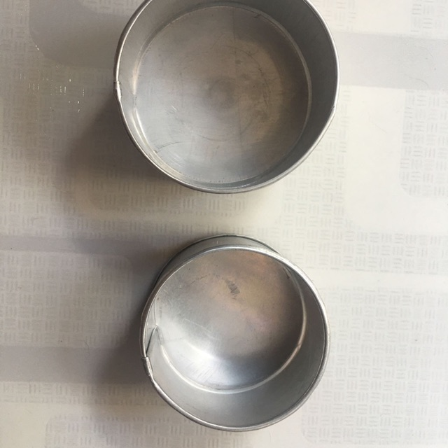 SMALL PUTO CUP OR ROUND LECHE FLAN MOLDER ALUMINUM ...
