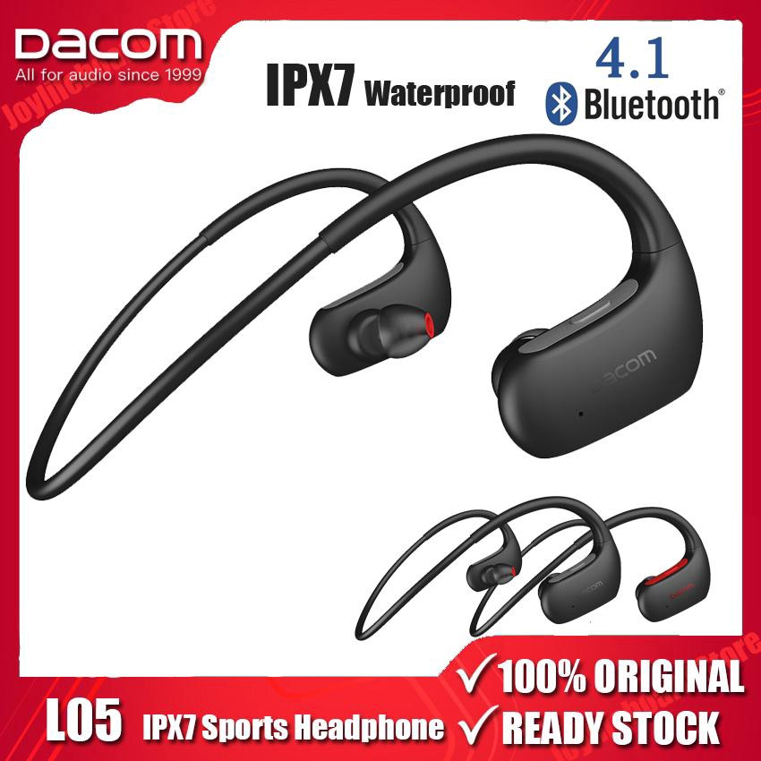 Original Dacom L05 Bluetooth Headphones Bass Ipx7 Waterproof Wireless Earphone Sports Bluetooth Headset With Mic For Iphone Xiaomi Huawei Shopee Philippines