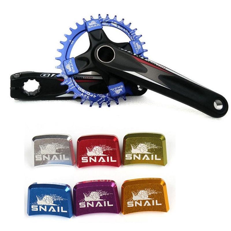 SNAIL Bike Chainring Botls Single Speed 24mm*17mm CNC Chainwheel Crankset Screws