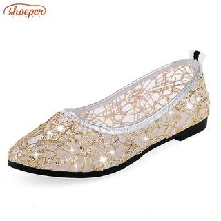 Saint Laurent Bleu Clair Patent Leather Tribute Sandals
