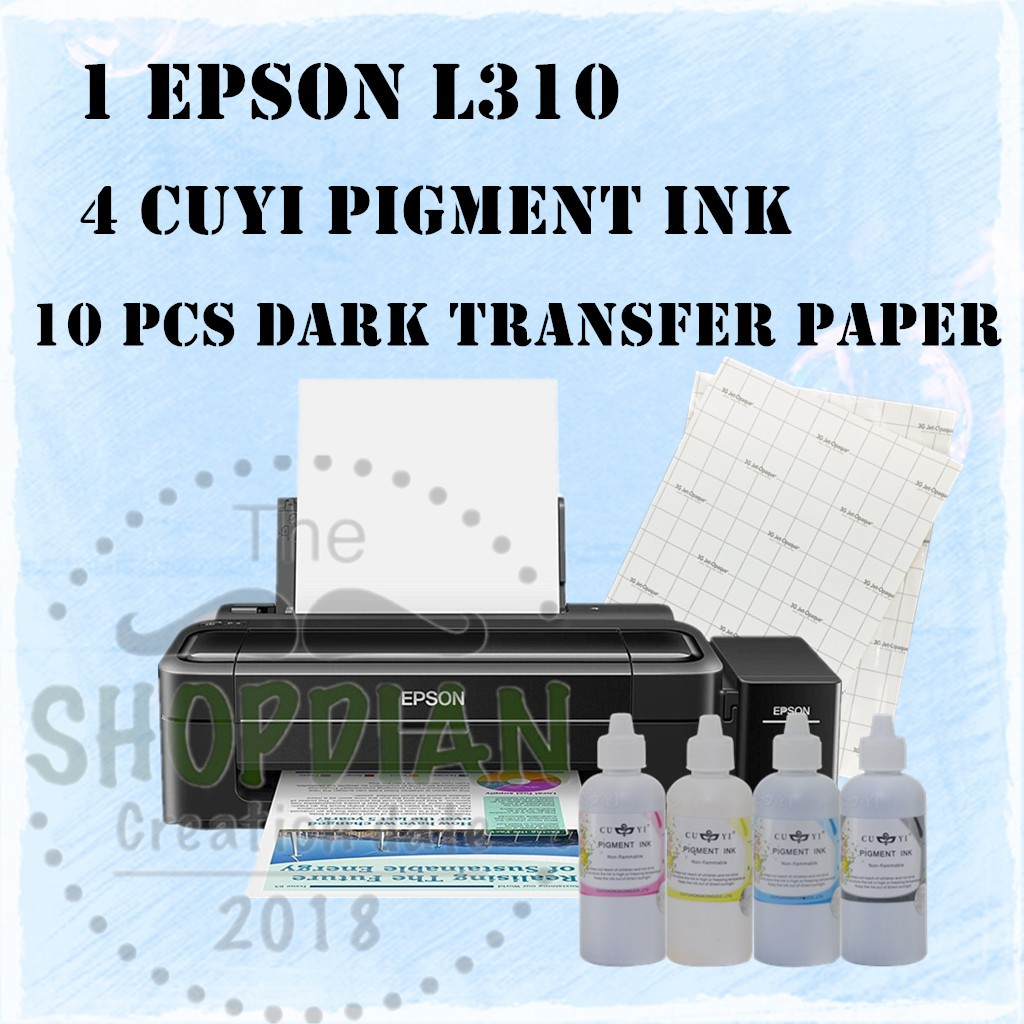 Epson L310 Single Function Printer With Pigment ink