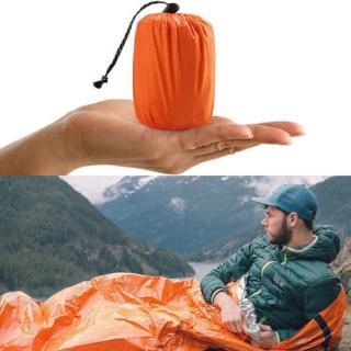 Outdoor First Aid Survival Emergency Tent Blanket Sleep Gear Bags Bag Shelt R4z8