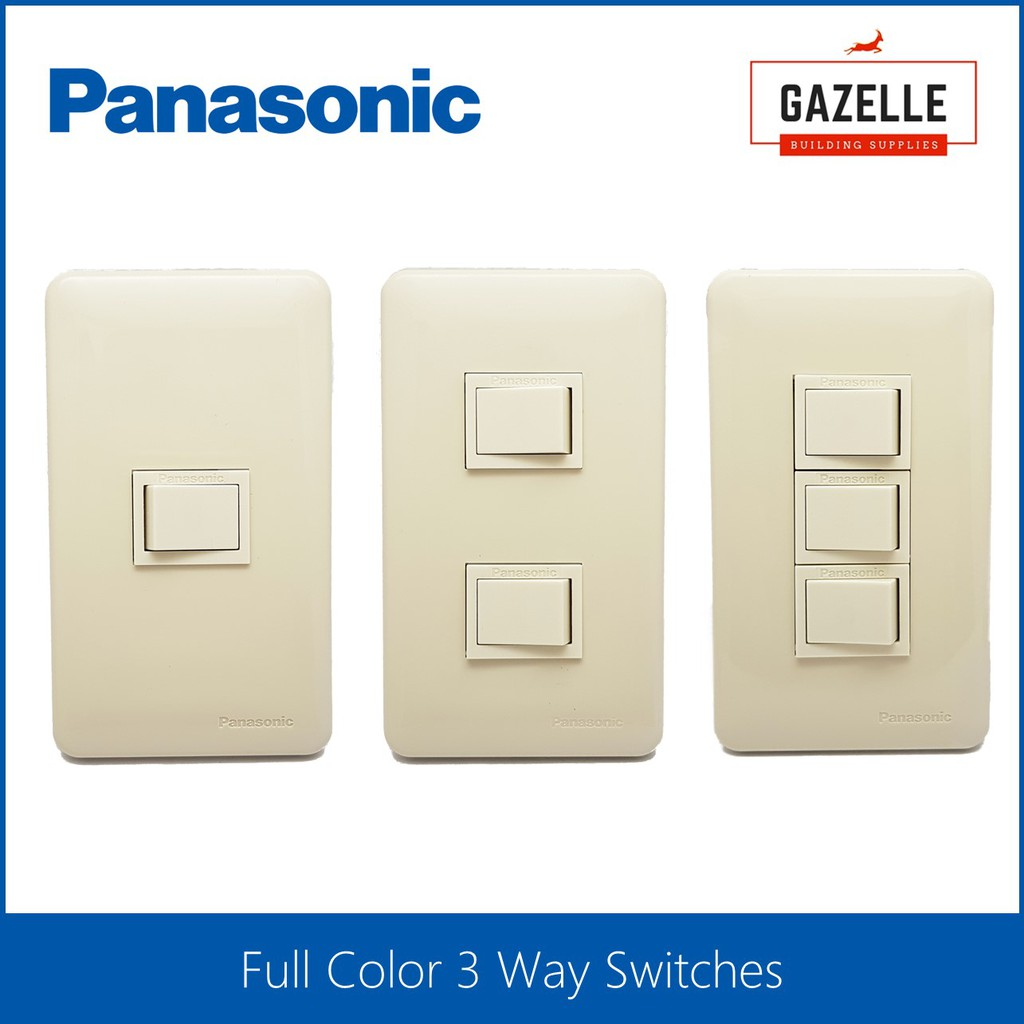 Panasonic Full Color 3 Way Switches Shopee Philippines