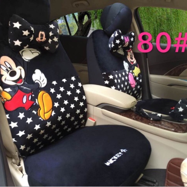 Mickey And Minnie Mouse Car Seat Cover 3297php